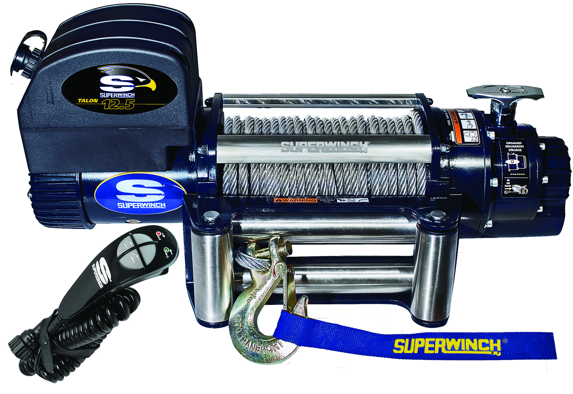 Winches agents stock of superwinch 4 4 winch for Electric motor winder jobs in saudi arabia